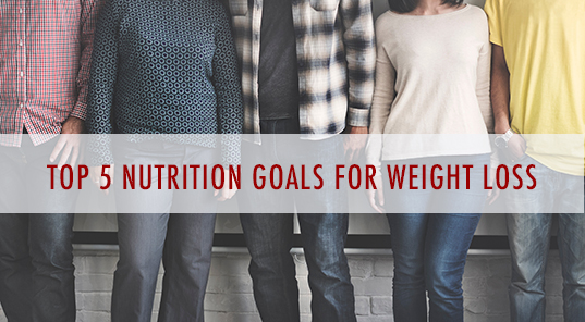 Five Individuals Standing And Planning for Weight Loss