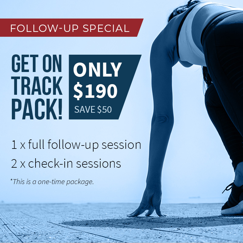 Get Back On Track Package