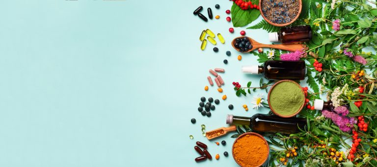 An image of supplements and vitamins